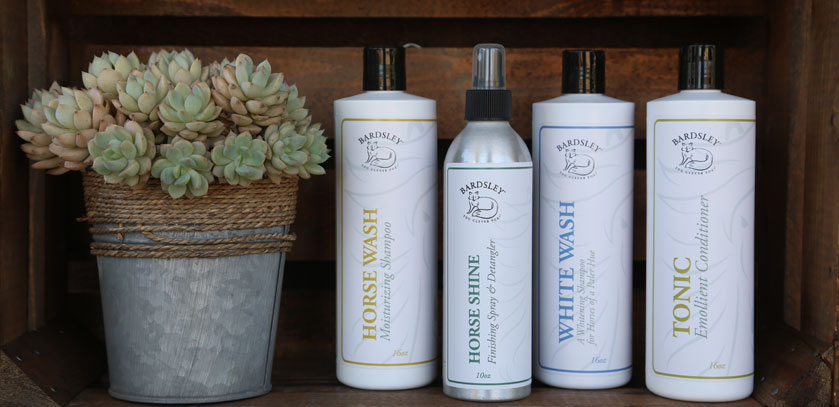 Bardsley Products: Grooming Products for the Fine Equine