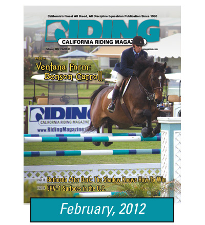 Bardsley Grooming Products on Riding Magazine Feb 2012